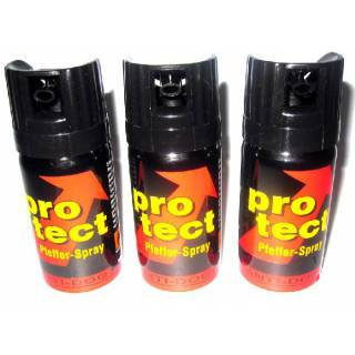 3 x PFEFFER-SPRAY pro tect / ANTI DOC